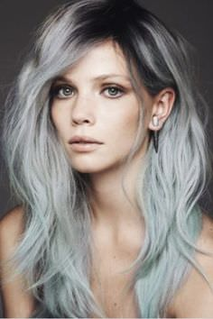 Ombre Gray Hair