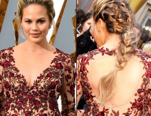 Our Top Pick: Chrissy Teigen's Oscars 2016 Braids