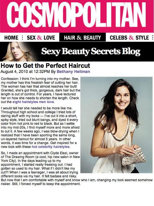 Cosmopolitan Article