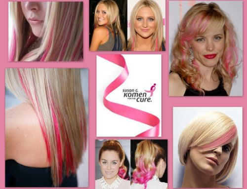 Show Your Support for Breast Cancer with a Pink Hair Extension!