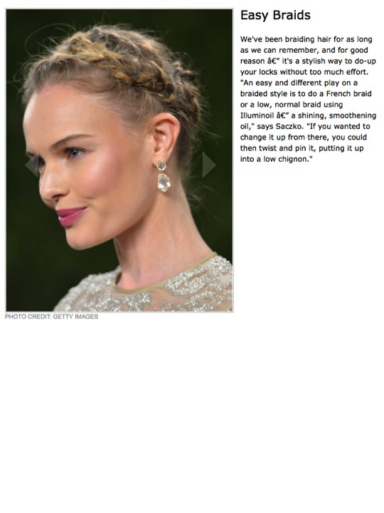 Easy Braids article