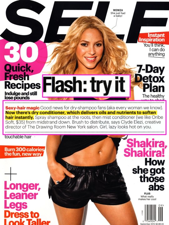 Self Magazine Cover and snippet