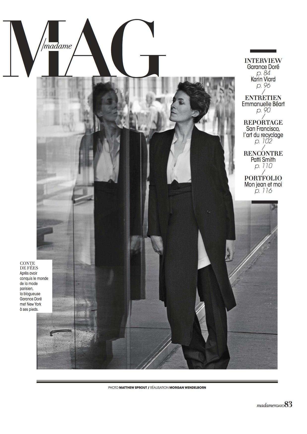 MAG Magazine cover