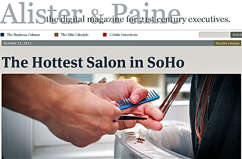 The Hottest Salon in SoHob article