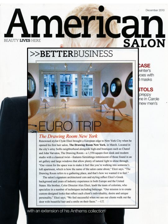 American Salon article