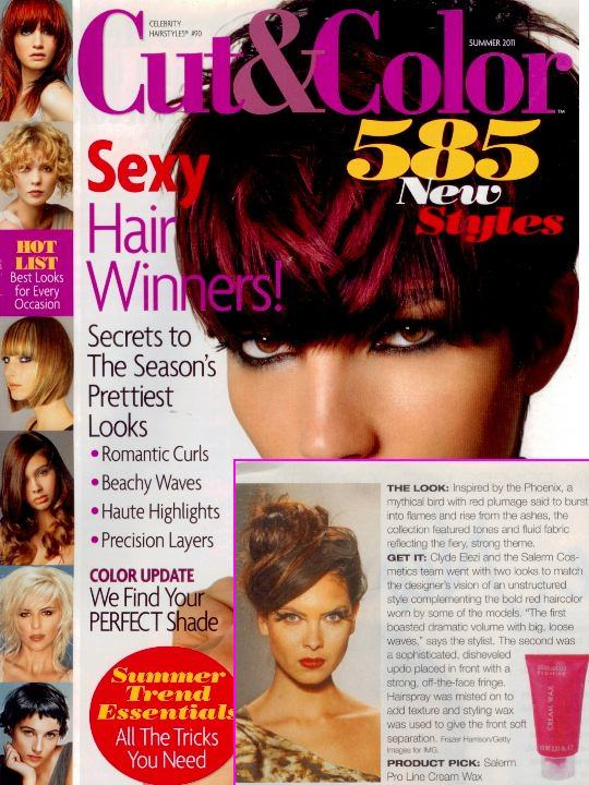 Cut & Color 585 New Styles cover