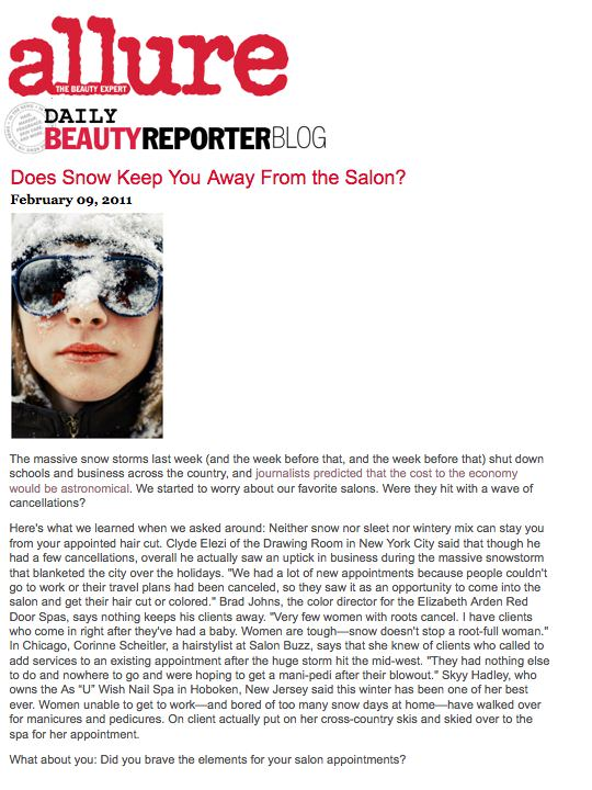 Allure Daily Beauty Blog