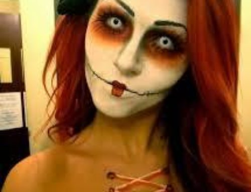 Halloween Make-up at The Drawing Room New York