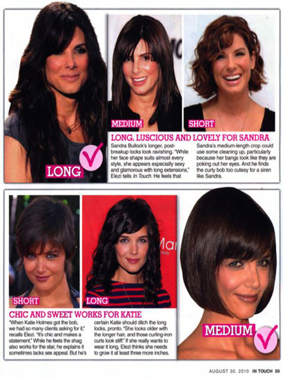 Short to Long Womens hairstyle article