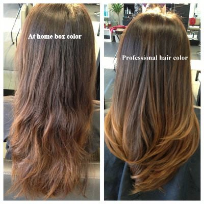 Box Hair Color Vs. Professional Hair Color Treatment