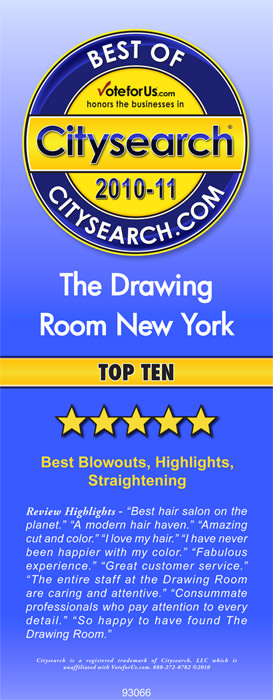 Best OF citysearch award with review